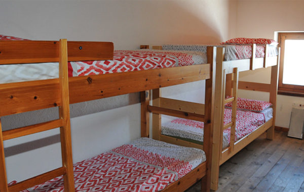 Camera da 10 posti letto